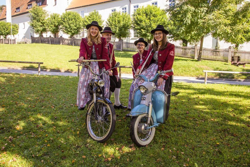 v.l.n.r.: Julia Feichtenschlager, Clemens Huber, Heidi Wimmer, Sofie Kohlbacher
